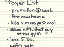 prayer list app