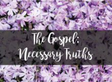 gospel necessary truths