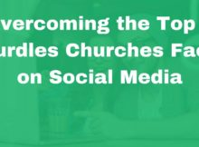 church social media hurdles