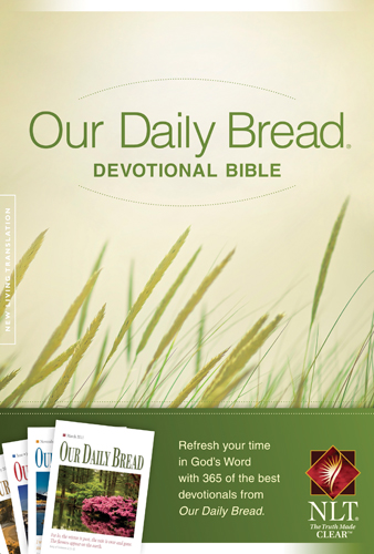 Our Daily Bread Devotional Bible, NLT