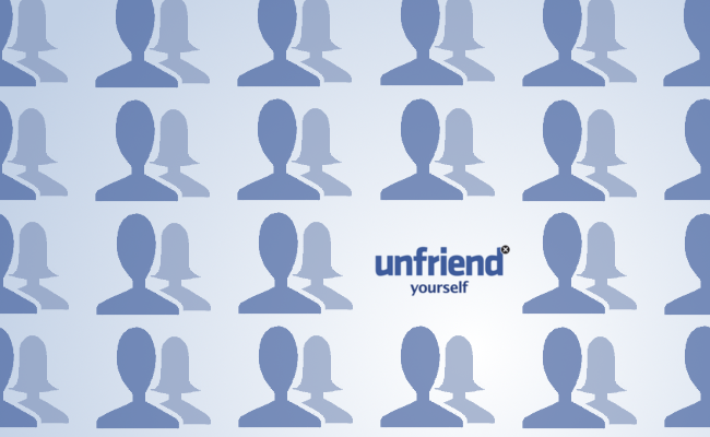 Unfriend Yourself by Kyle Tennant @kh_tennant