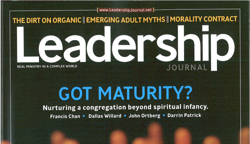June: Leadership Journal Subscription Giveaway