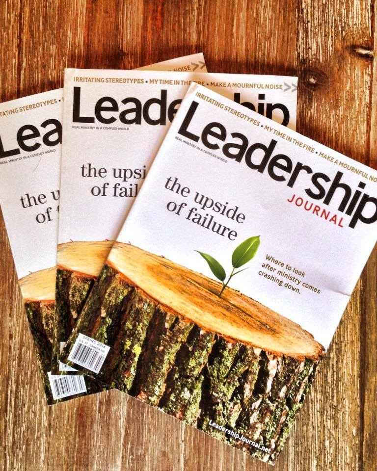 Leadership Journal Giveaway Winners