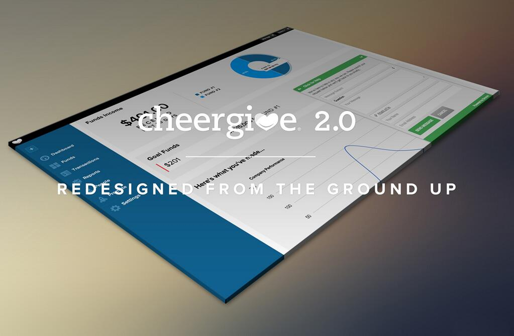 CheerGive 2.0 is Here!