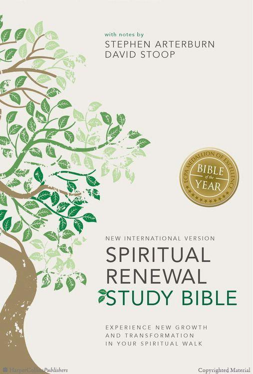 NIV Spiritual Renewal Study Bible @Zondervan