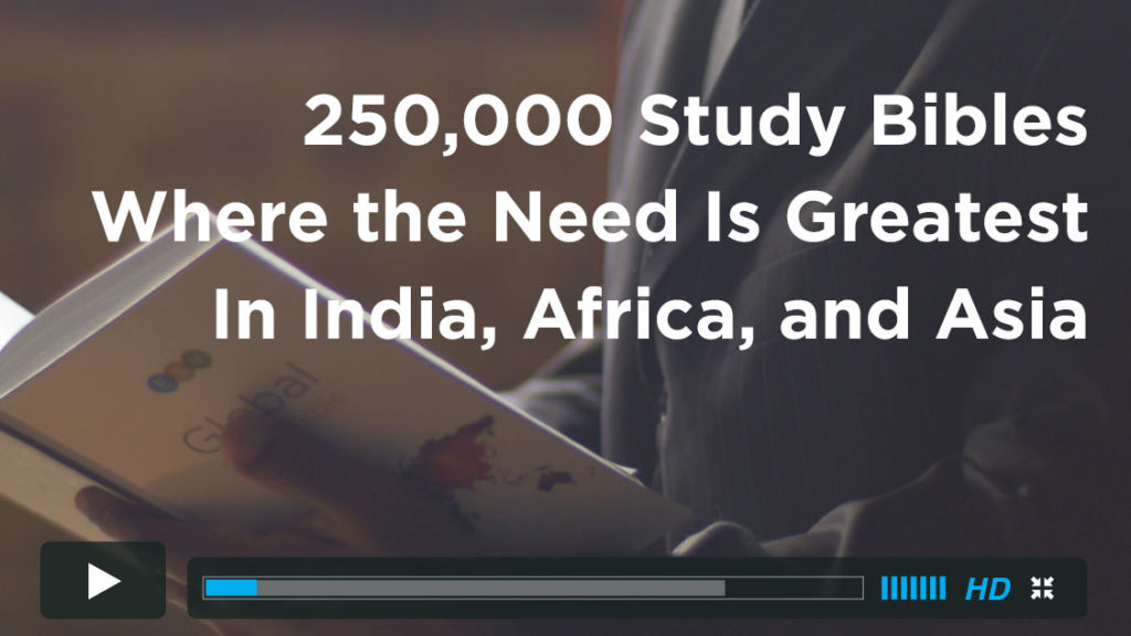 Help Send 250,000 ESV Study Bibles