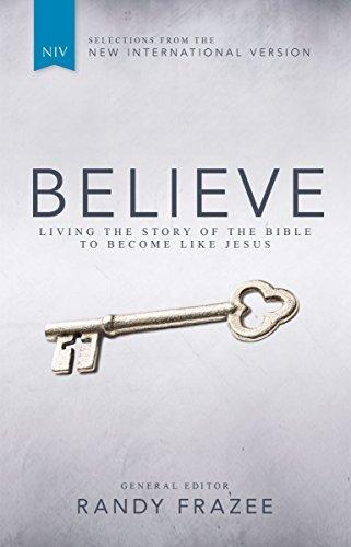 niv believe bible frazee