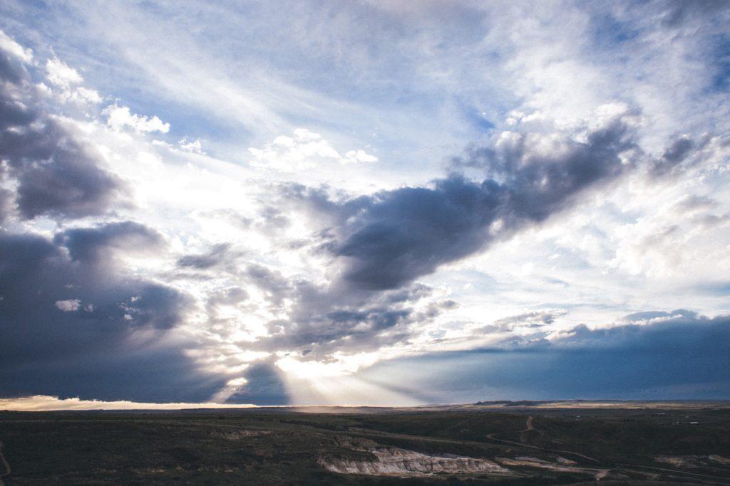 teryn o'brien clouds sunrise