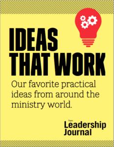 leadership journals ideas that work