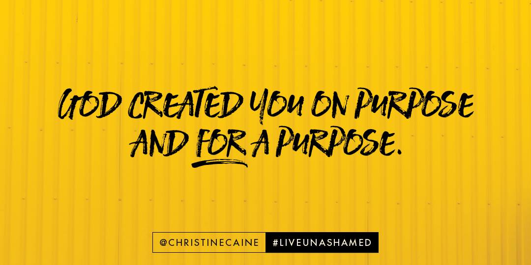 Unashamed by Christine Caine, A Review