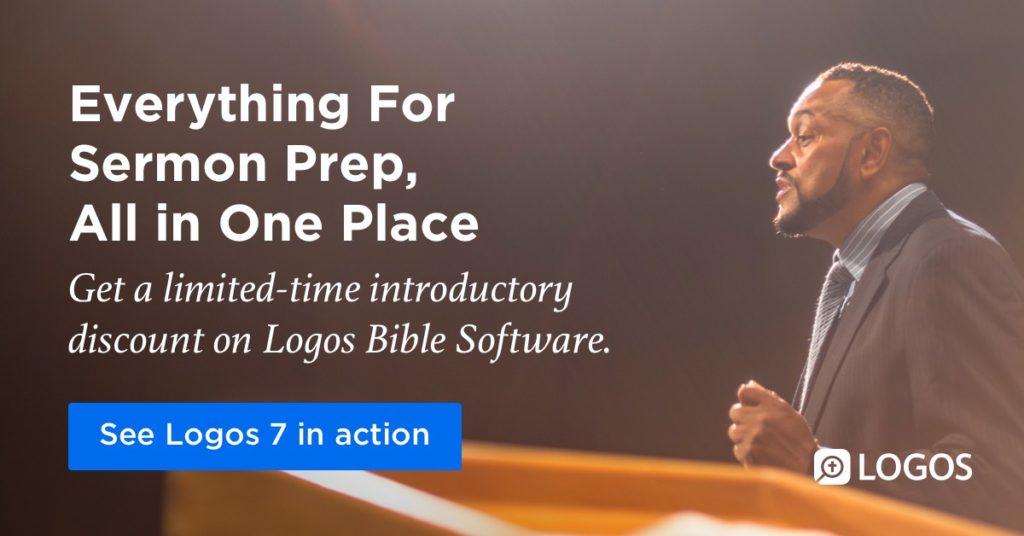 Logos Bible Software Logos 7 Pastor