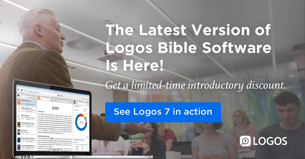 What's New in Logos 7? Plus a Free Book!