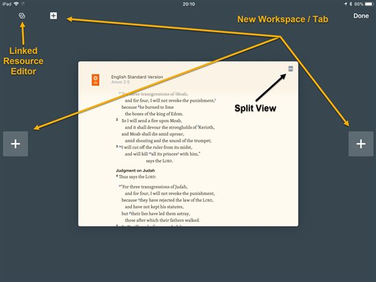 logos bible software app screenshot