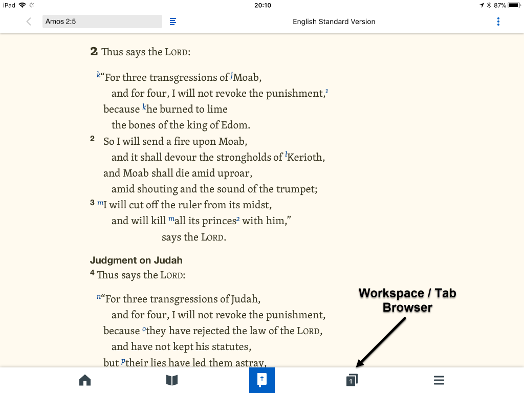 logos bible software app screenshot 1