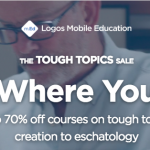 Logos Bible Tough Topics 2018