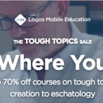 Logos Bible Tough Topics 2018