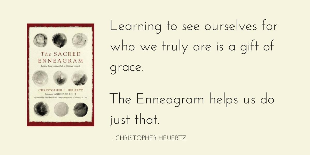 The Sacred Enneagram by Christopher L. Heuertz